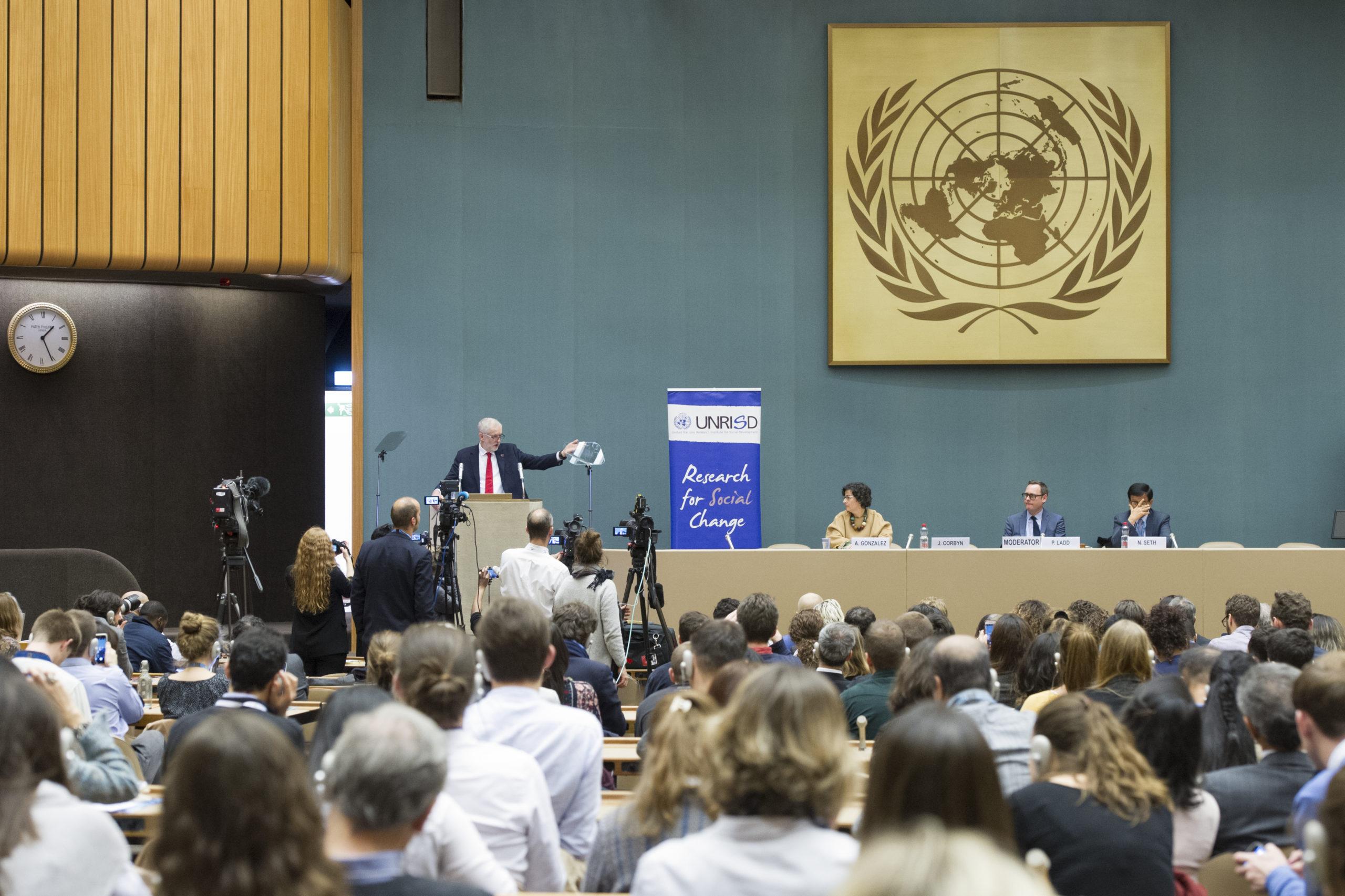 UN Sitzungssaal Genf