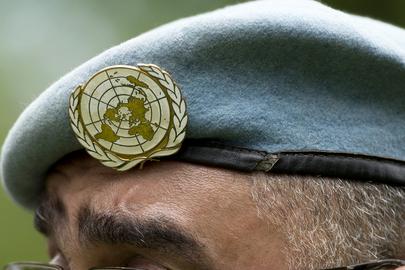 UN Blauhelm - Friedenstruppen der Vereinten Nationen