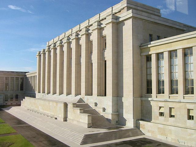 UN-Gebäude Genf