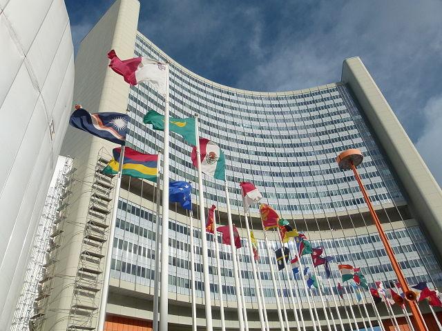 UN Gebaude Wien - Vereinte Nationen