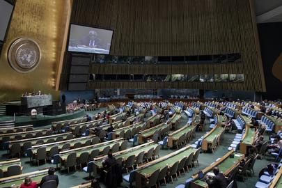 UN Vollversammlung1 - Generalversammlung