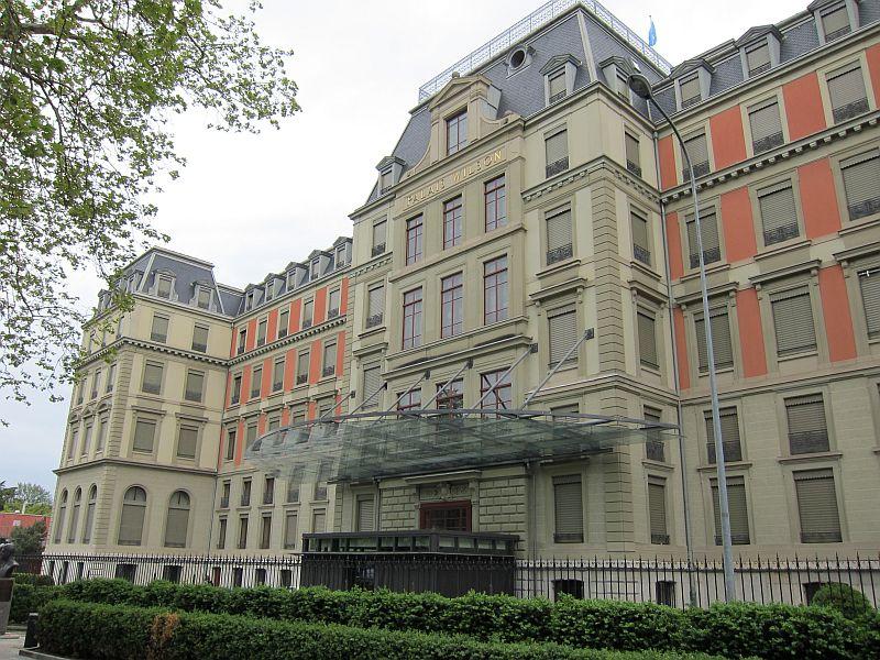 Sitz des UNHCHR in Genf