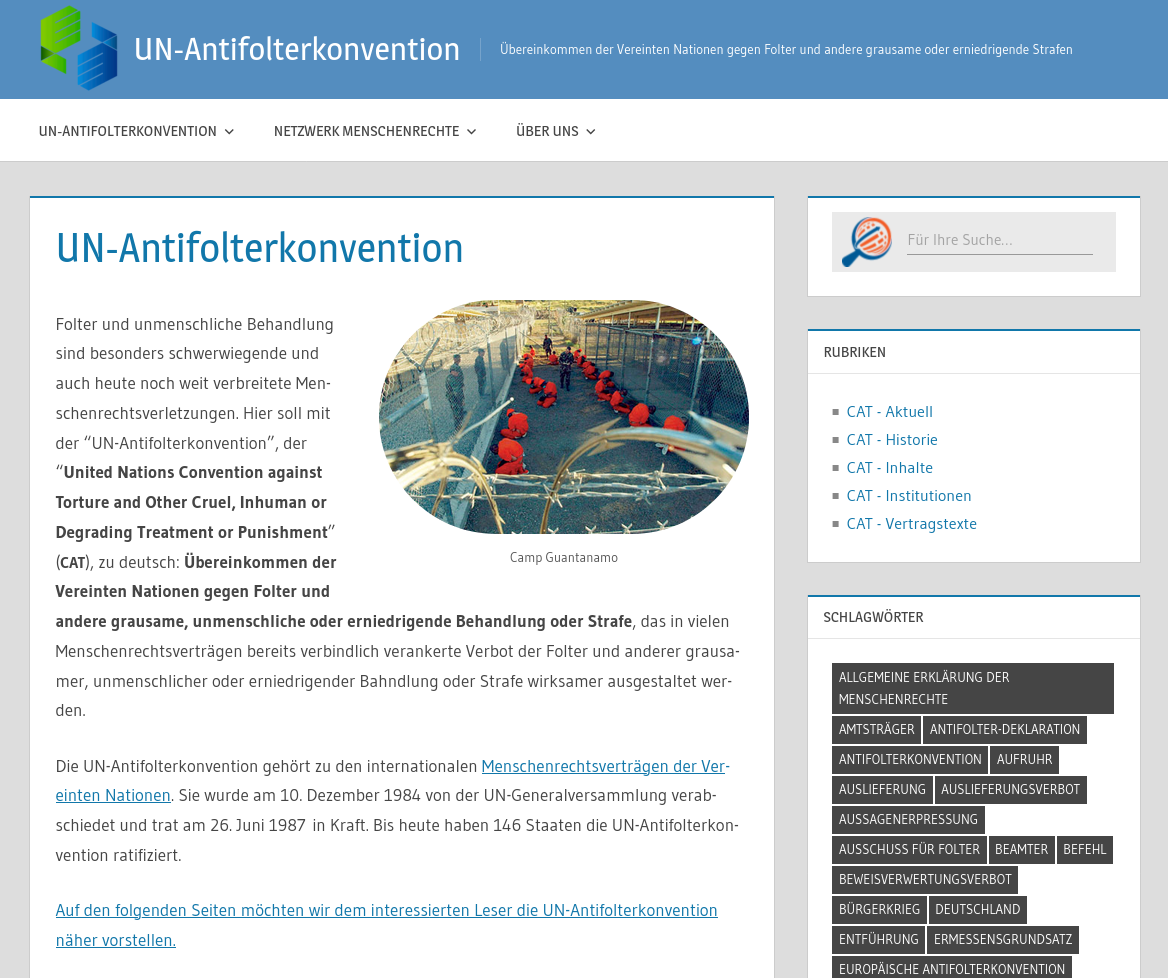 UN-Antifolterkonvention