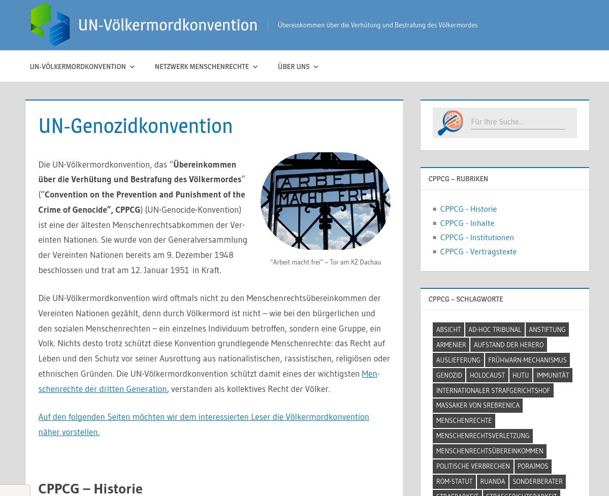 UN-Völkermordkonvention